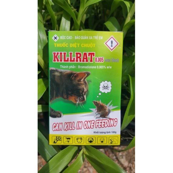 Thuốc diệt chuột KILLRAT 0,005