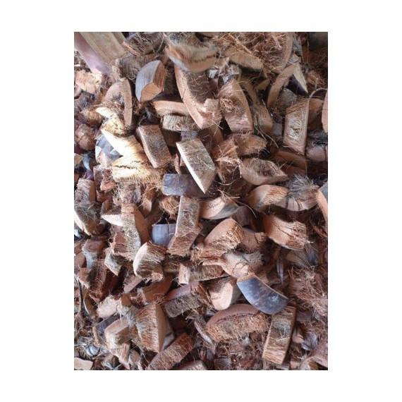 Vỏ dừa cắt miếng 3cm (cây...