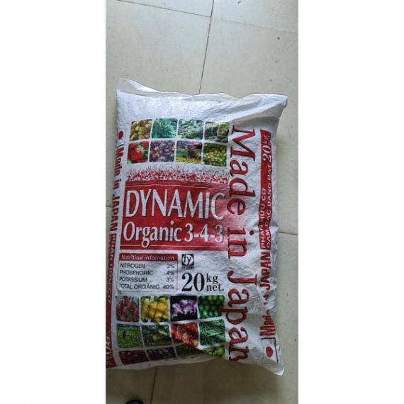 DYNAMIC ORGANIC 3-4-3 Phân...